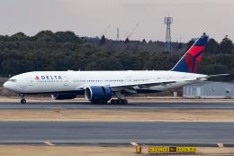 KoshiTomoさんが、成田国際空港で撮影したデルタ航空 777-232/LRの航空フォト(飛行機 写真・画像)