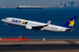 KoshiTomoさんが、羽田空港で撮影したスカイマーク 737-8ALの航空フォト(飛行機 写真・画像)