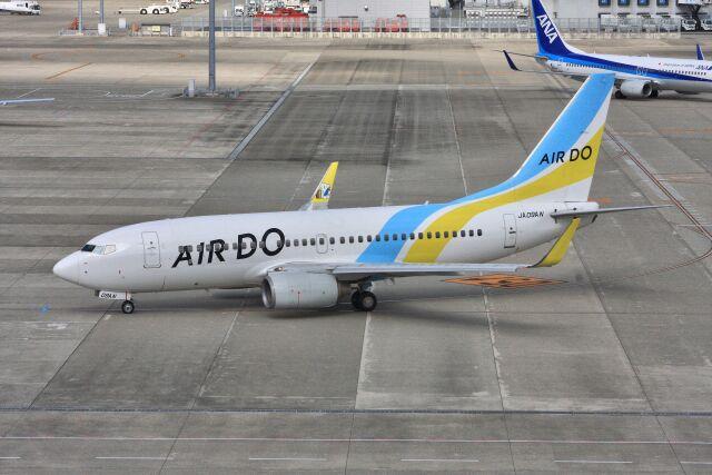 wunalaさんが、中部国際空港で撮影したAIR DO 737-781の航空フォト(飛行機 写真・画像)