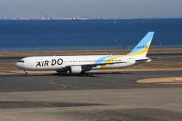 wunalaさんが、羽田空港で撮影したAIR DO 767-33A/ERの航空フォト(飛行機 写真・画像)