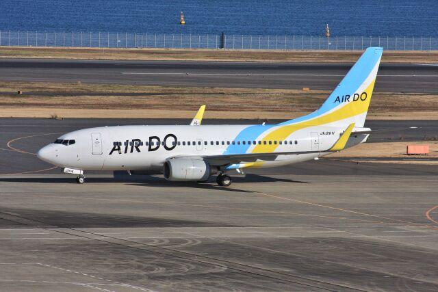 wunalaさんが、羽田空港で撮影したAIR DO 737-781の航空フォト(飛行機 写真・画像)