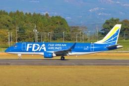 Kuuさんが、鹿児島空港で撮影したフジドリームエアラインズ ERJ-170-200 (ERJ-175STD)の航空フォト(飛行機 写真・画像)