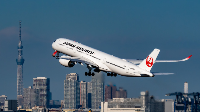 shao804さんが、羽田空港で撮影した日本航空 A350-941の航空フォト(飛行機 写真・画像)