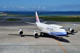 しまb747さんが、那覇空港で撮影したチャイナエアライン 747-409の航空フォト(飛行機 写真・画像)