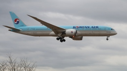 raichanさんが、成田国際空港で撮影した大韓航空 787-9の航空フォト(飛行機 写真・画像)