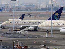 しまb747さんが、羽田空港で撮影したサウジアラビア王国政府 747SP-68の航空フォト(飛行機 写真・画像)
