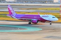 amagoさんが、福岡空港で撮影したピーチ A320-214の航空フォト(飛行機 写真・画像)