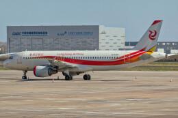 让开我先飞さんが、ハルビン太平国際空港で撮影した竜江航空 A320-214の航空フォト(飛行機 写真・画像)