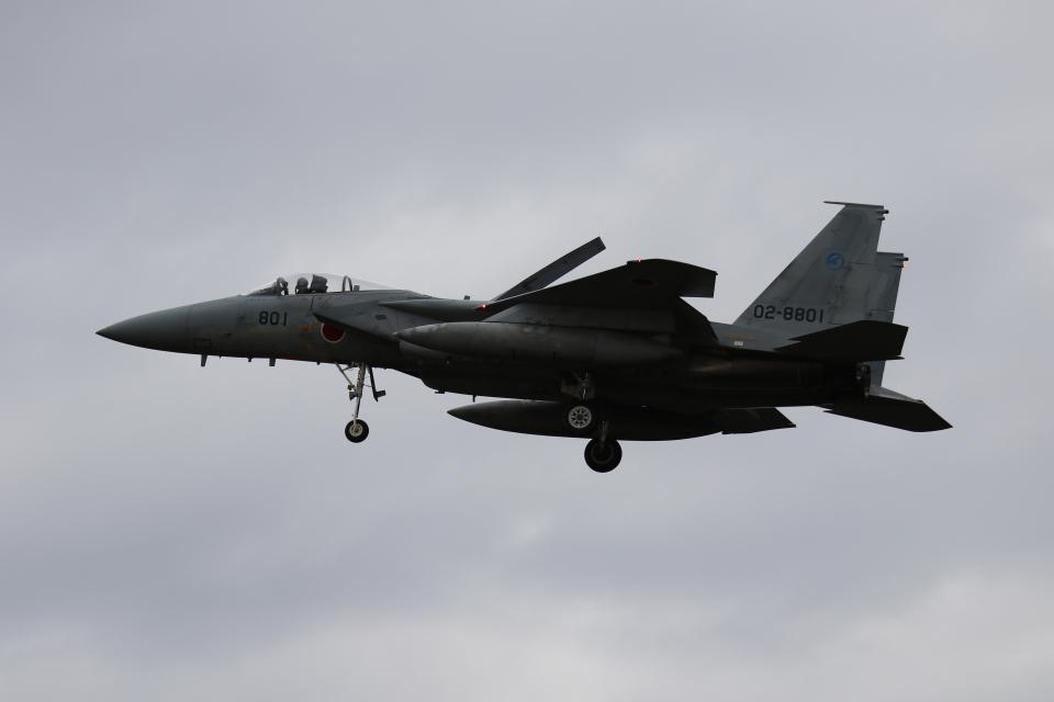 ☆ゆっきー☆さんの航空自衛隊 McDonnell Douglas F-15J Eagle (02-8801) 航空フォト