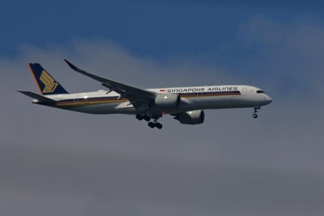 fox_samさんが、ニノイ・アキノ国際空港で撮影したシンガポール航空 A350-941の航空フォト(飛行機 写真・画像)