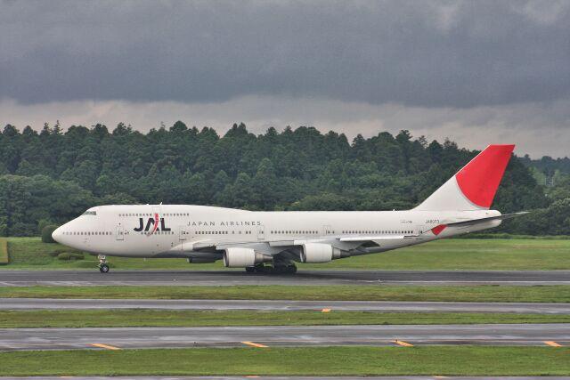 wunalaさんが、成田国際空港で撮影した日本航空 747-446の航空フォト(飛行機 写真・画像)