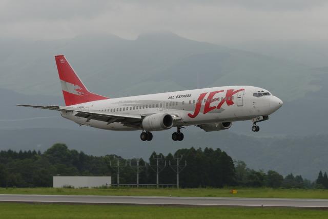 kengo.k@RJFTさんが、熊本空港で撮影したJALエクスプレス 737-446の航空フォト(飛行機 写真・画像)