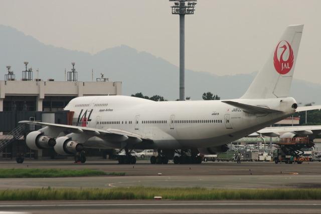 kengo.k@RJFTさんが、熊本空港で撮影した日本航空 747-346の航空フォト(飛行機 写真・画像)