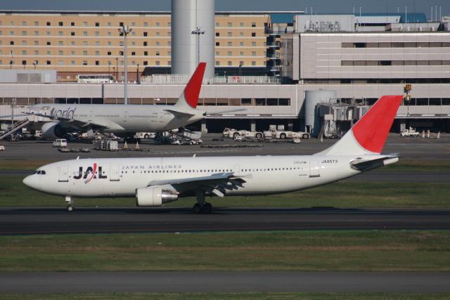 wunalaさんが、羽田空港で撮影した日本航空 A300B4-622Rの航空フォト(飛行機 写真・画像)