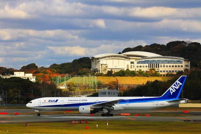 ansett747さんが、福岡空港で撮影した全日空 777-381の航空フォト(飛行機 写真・画像)