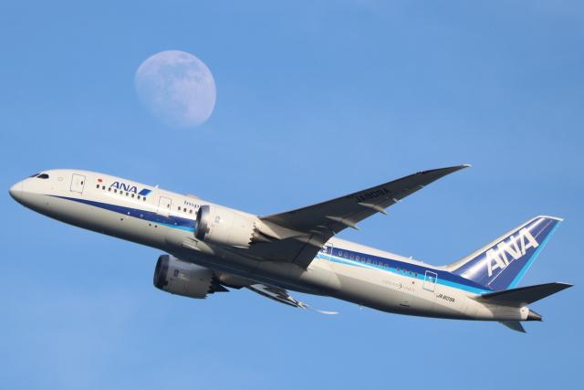 航空フォト:JA809A 全日空 787-8 Dreamliner