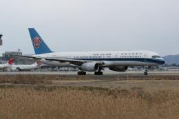 プルシアンブルーさんが、仙台空港で撮影した中国南方航空 757-21Bの航空フォト(飛行機 写真・画像)