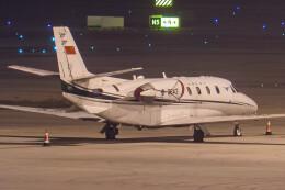 让开我先飞さんが、天津浜海国際空港で撮影した中国民用航空局 560XL Citation Excel/XLS/XLS+の航空フォト(飛行機 写真・画像)