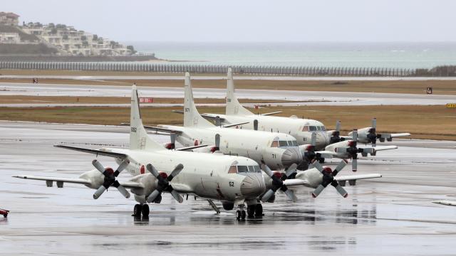 誘喜さんが、那覇空港で撮影した海上自衛隊 P-3Cの航空フォト(飛行機 写真・画像)