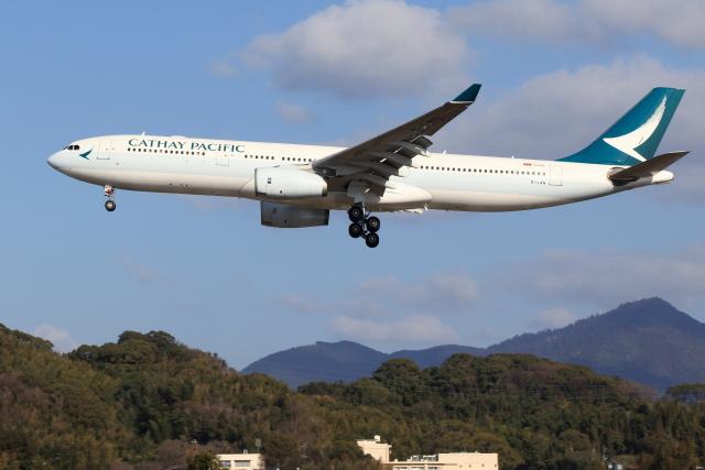 虎太郎19さんが、福岡空港で撮影したキャセイパシフィック航空 A330-343Xの航空フォト(飛行機 写真・画像)