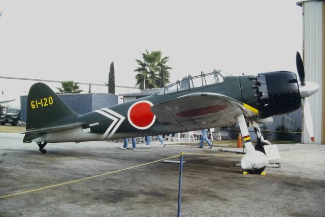ゴンタさんが、チノ空港で撮影したプレーンズ・オブ・フェイム Zero 52/A6M5の航空フォト(飛行機 写真・画像)