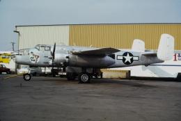 ゴンタさんが、チノ空港で撮影したプレーンズ・オブ・フェイム B-25J Mitchellの航空フォト(飛行機 写真・画像)