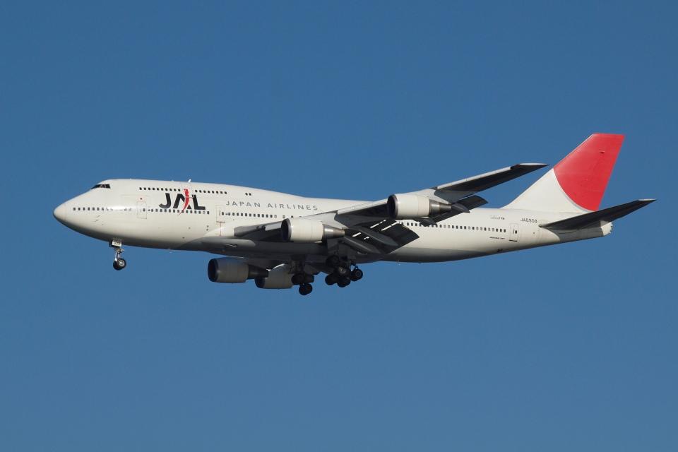 Deepさんの日本航空 Boeing 747-400 (JA8908) 航空フォト