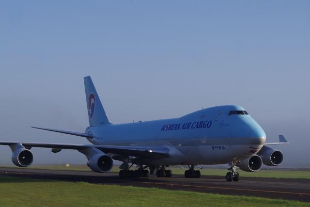 N@ruさんが、鹿児島空港で撮影した大韓航空 747-4B5F/ER/SCDの航空フォト(飛行機 写真・画像)