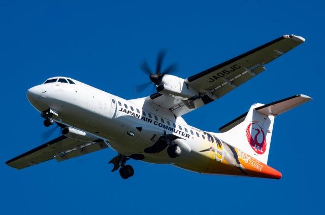 N@ruさんが、鹿児島空港で撮影した日本エアコミューター ATR-42-600の航空フォト(飛行機 写真・画像)