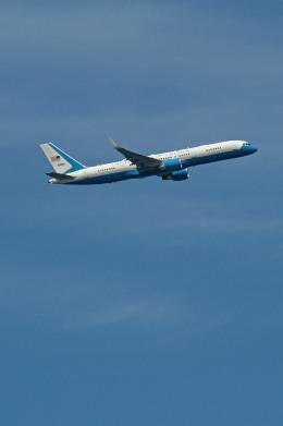 JA8001-Fujiさんが、羽田空港で撮影したアメリカ空軍 VC-32A (757-2G4)の航空フォト(飛行機 写真・画像)