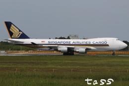tassさんが、成田国際空港で撮影したシンガポール航空カーゴ 747-412F/SCDの航空フォト(飛行機 写真・画像)