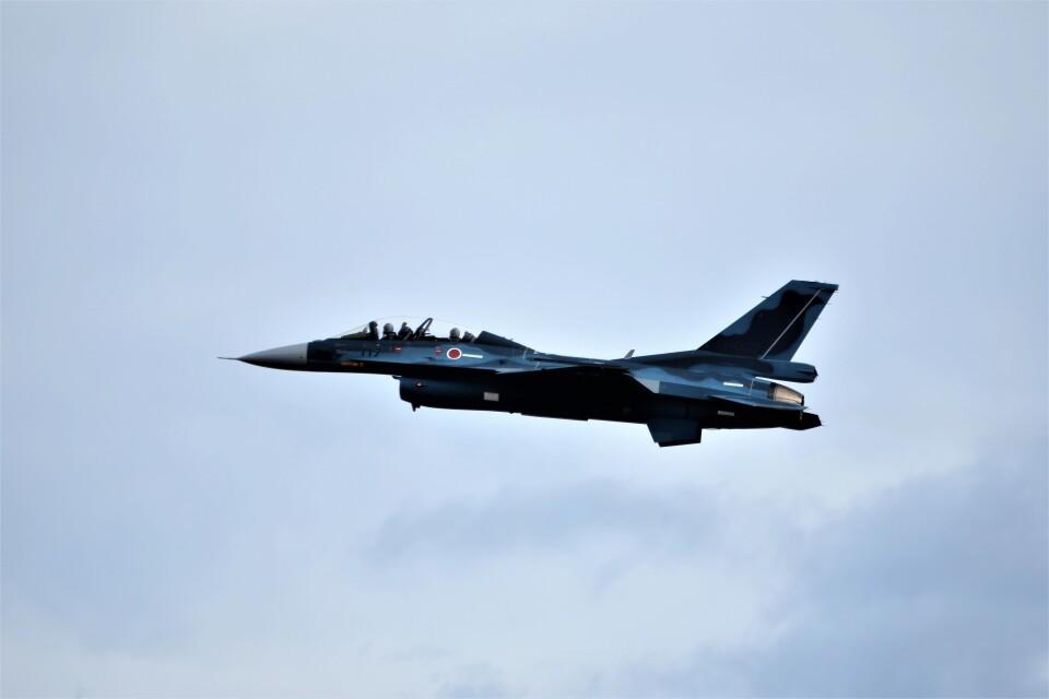 MSN/PFさんの航空自衛隊 Mitsubishi F-2B (33-8117) 航空フォト