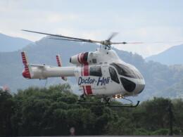 チダ.ニックさんが、静岡ヘリポートで撮影した朝日航洋 MD-900 Explorerの航空フォト(飛行機 写真・画像)