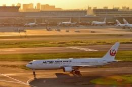 h_wajyaさんが、羽田空港で撮影した日本航空 767-346/ERの航空フォト(飛行機 写真・画像)