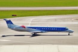 ちっとろむさんが、ウィーン国際空港で撮影したBMIリージョナル ERJ-145EPの航空フォト(飛行機 写真・画像)