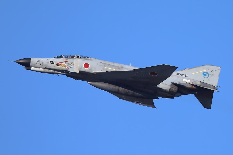 levo2735さんの航空自衛隊 Mitsubishi F-4EJ Phantom II (47-8336) 航空フォト