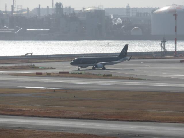 チャンギーVさんが、羽田空港で撮影したスターフライヤー A320-214の航空フォト(飛行機 写真・画像)