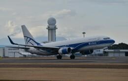 海山さんが、鹿児島空港で撮影したアトラン・アヴィアトランス・カーゴ・エアラインズ 737-83N(BCF)の航空フォト(飛行機 写真・画像)