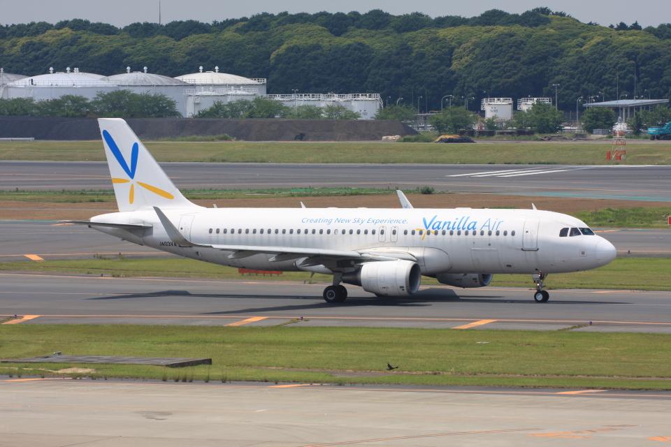 wunalaさんのバニラエア Airbus A320 (JA03VA) 航空フォト