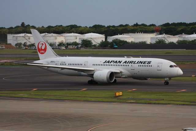 wunalaさんが、成田国際空港で撮影した日本航空 787-8 Dreamlinerの航空フォト(飛行機 写真・画像)