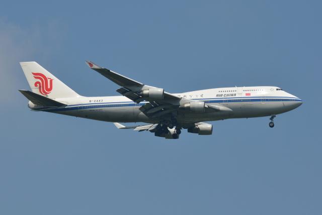 Deepさんが、成田国際空港で撮影した中国国際航空 747-4J6の航空フォト(飛行機 写真・画像)