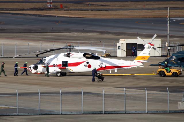 なごやんさんが、名古屋飛行場で撮影した三菱重工業 XSH-60Lの航空フォト(飛行機 写真・画像)