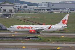 wunalaさんが、クアラルンプール国際空港で撮影したマリンド・エア 737-8GPの航空フォト(飛行機 写真・画像)