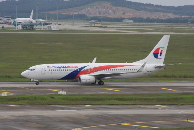 wunalaさんが、クアラルンプール国際空港で撮影したマレーシア航空 737-8H6の航空フォト(飛行機 写真・画像)
