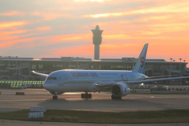 TAOTAOさんが、仁川国際空港で撮影した大韓航空 787-9の航空フォト(飛行機 写真・画像)