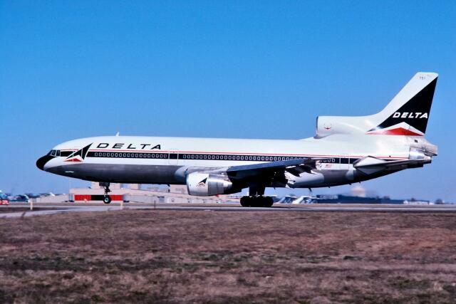 パール大山さんが、ハーツフィールド・ジャクソン・アトランタ国際空港で撮影したデルタ航空 L-1011-385-3 TriStar 500の航空フォト(飛行機 写真・画像)