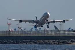 JA8001-Fujiさんが、羽田空港で撮影したルフトハンザドイツ航空 A340-313Xの航空フォト(飛行機 写真・画像)