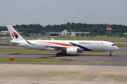 wunalaさんが、成田国際空港で撮影したマレーシア航空 A350-941の航空フォト(飛行機 写真・画像)