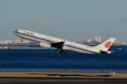 h_wajyaさんが、羽田空港で撮影した中国国際航空 A330-343Eの航空フォト(飛行機 写真・画像)