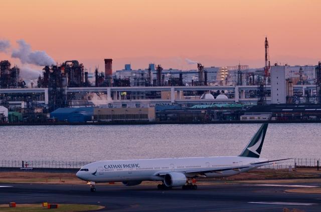 h_wajyaさんが、羽田空港で撮影したキャセイパシフィック航空 777-367/ERの航空フォト(飛行機 写真・画像)